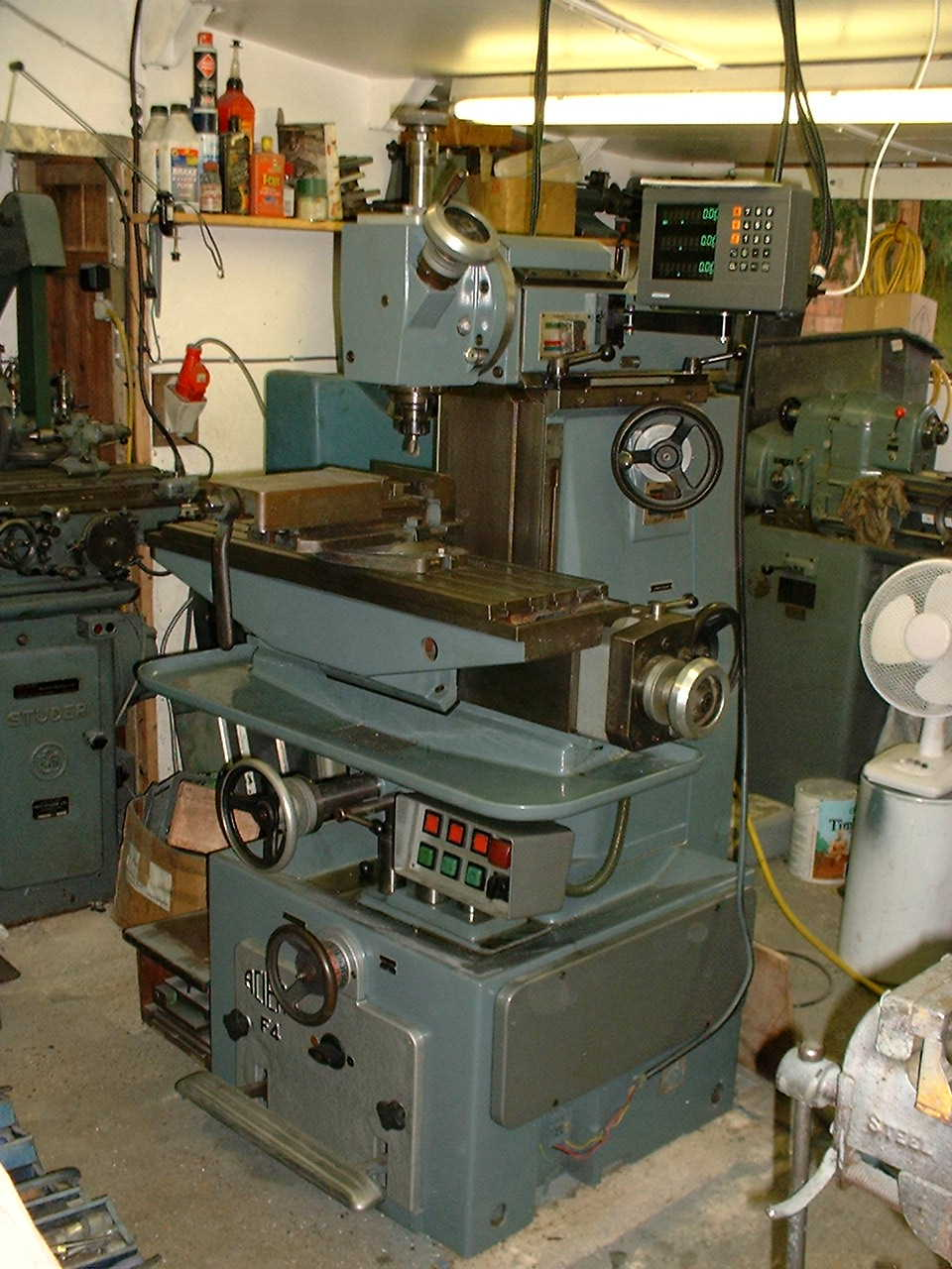 used milling machines for sale anglo swiss tools. Black Bedroom Furniture Sets. Home Design Ideas