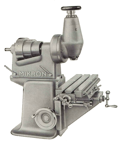 Mikron F75 with vertical head