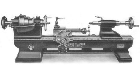 Early-type bench mounted SV70 from the 1943 catalogue