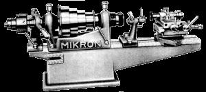 Mikron pivot burnishing and polishing lathe