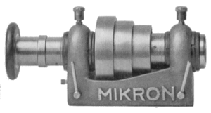 Mikron headstock for 40mm collets