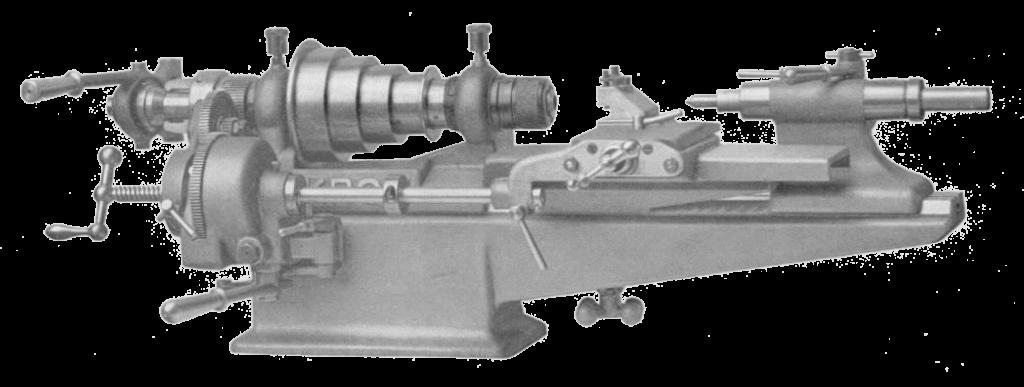 Mikron T90 semi-automatic lathe